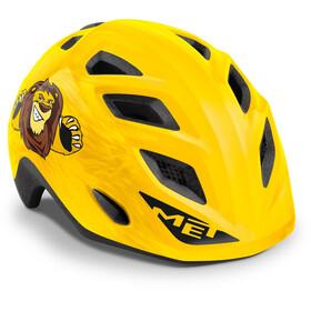 MET Elfo Helmet Kids yellow lion glossy
